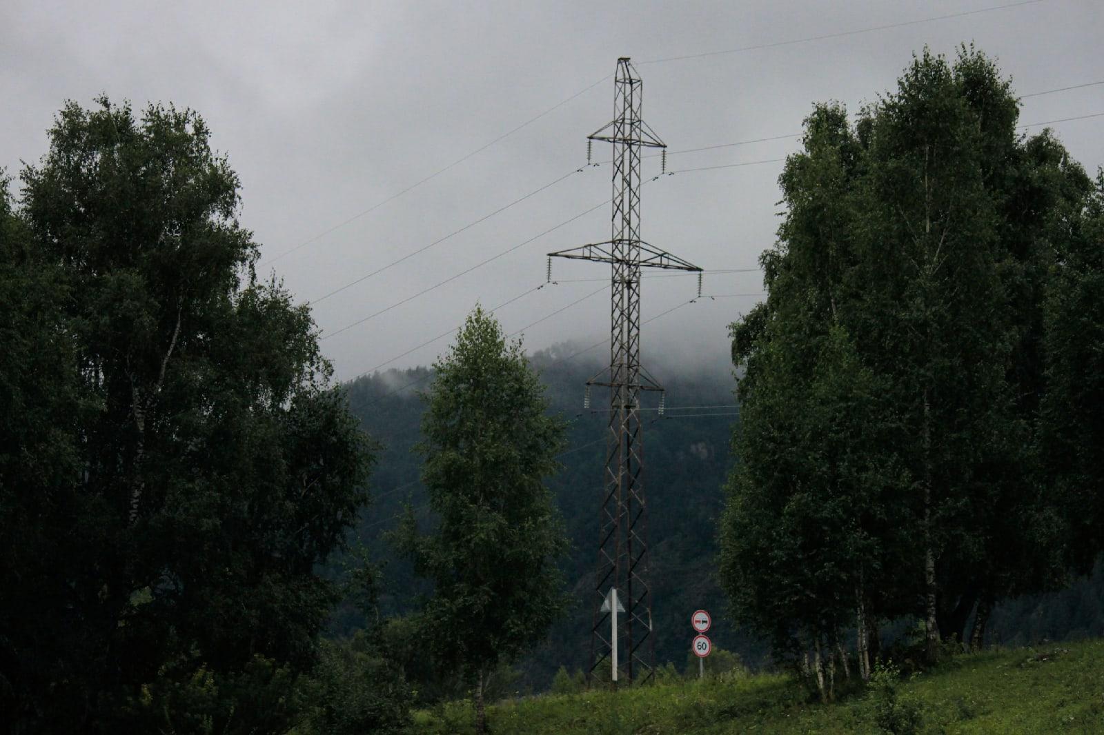 Алтайский посёлок Элекмонар - Фото