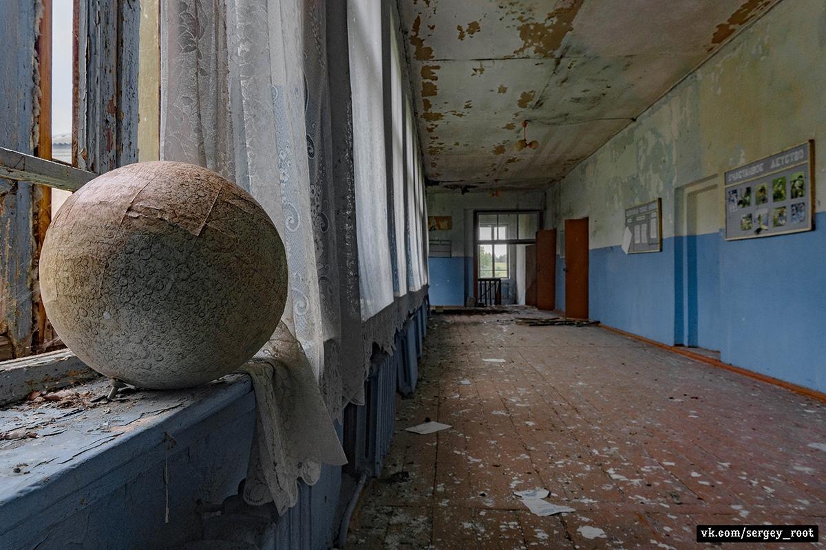 День знаний в заброшенной школе - Фото
