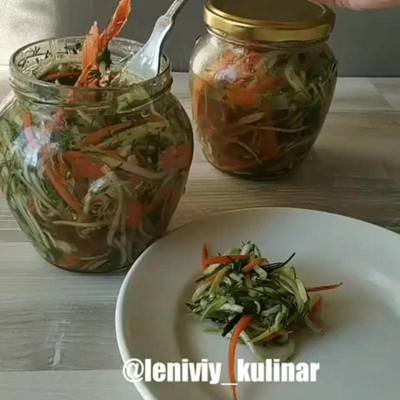 Супер вкусная закуска! Маринованные овощи!