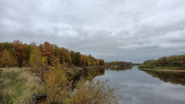 река Клязьма, граница Нижегородской и Владимирской област...